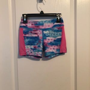 Girls Reebok active shorts